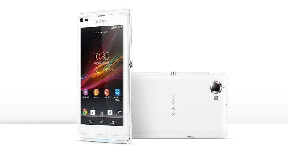 A Sony anunciou o lançamento do smarpthone Xperia L no Brasil, por R$ 899
