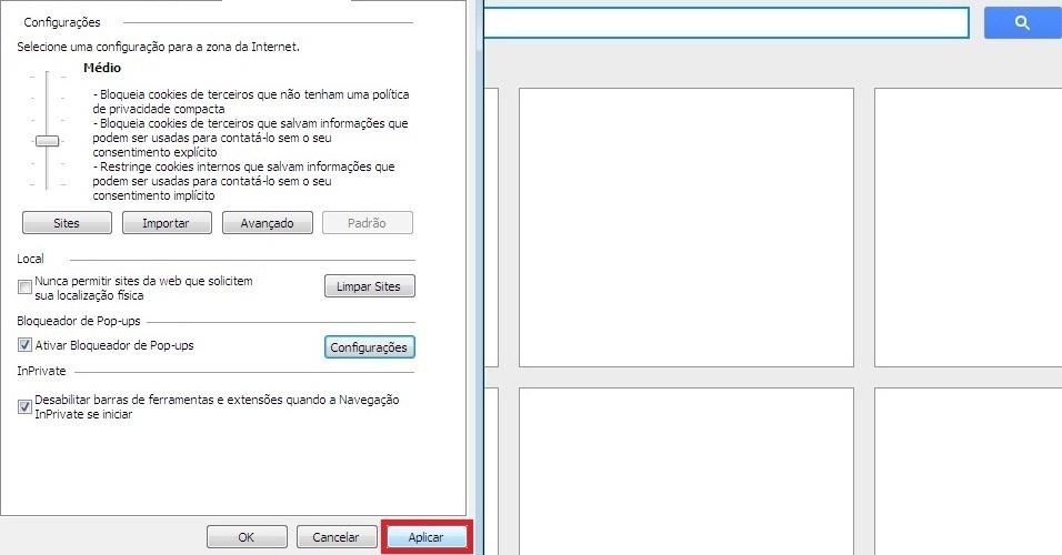 Mozilla Firefox. Clique em OK no final da janela. Pronto, os pop-ups não aparecerão mais no Firefox