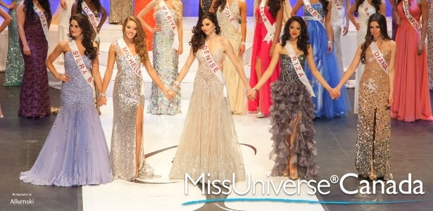 Foto oficial da final mostra Denise Garrido (centro); a real vencedora é Riza Santos, ao lado de Denise na foto