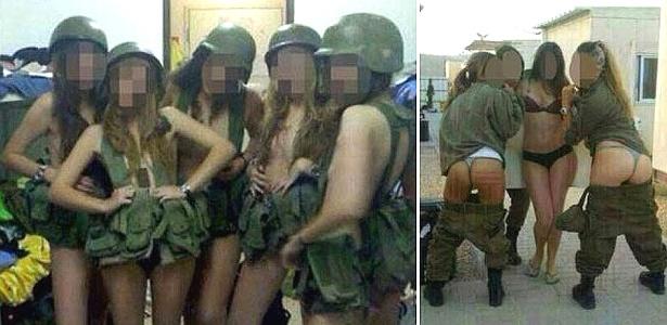 O comando militar de Israel condenou o comportamento das recrutas