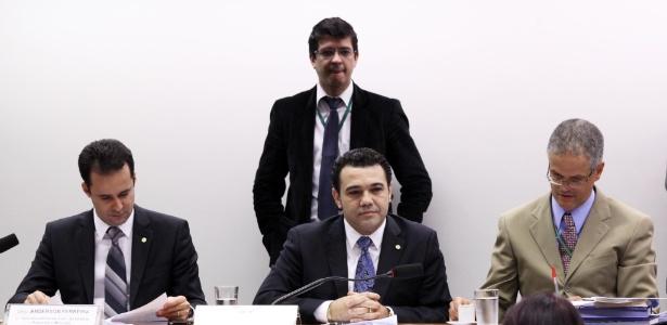 Deputado pastor Marco Feliciano (PSC-SP) participa de reunião da Comissão de Direitos Humanos