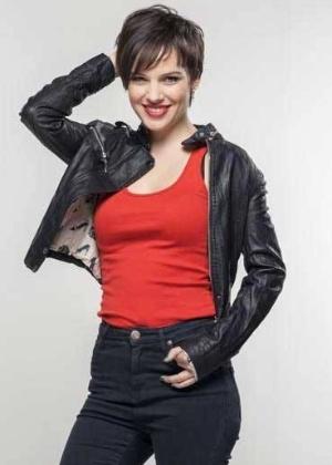 A atriz e cantora chilena Luciana Echeverría