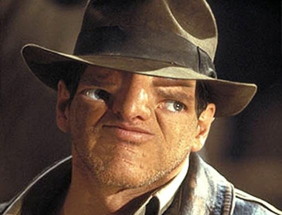Sloth face Indiana Jones
