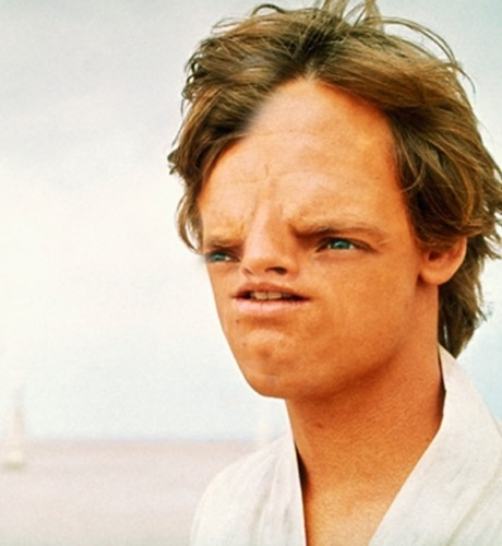 Sloth face Luke Skywalker