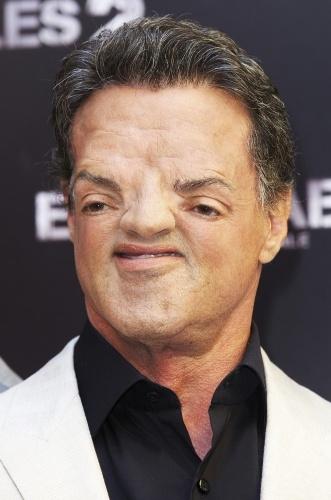Sloth face Sylvester Stallone
