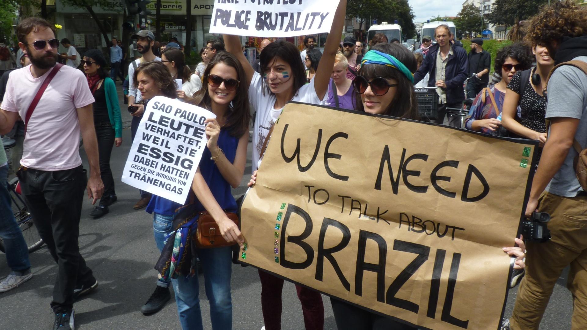 'Primavera Brasileira'... pelo mundo? Atos de apoio a protestos paulistas em Berlim, Dublin e Washington