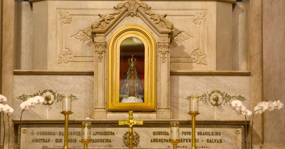 Imagem Original De Nossa Senhora Aparecida: Aparecida (SP) Se Prepara Para Receber Papa Francisco