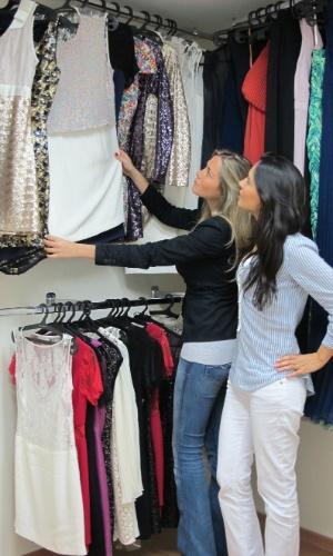 Empreendedoras Barbara Diniz e Mariana Penazzo, fundadoras da empresa de aluguel de vestidos de grife Dress&Go