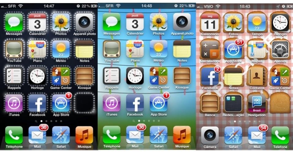 Simbolos de Telefone Celular do Seu Telefone Celular