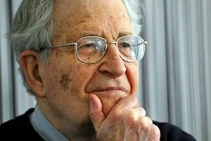 O linguista americano Noam Chomsky