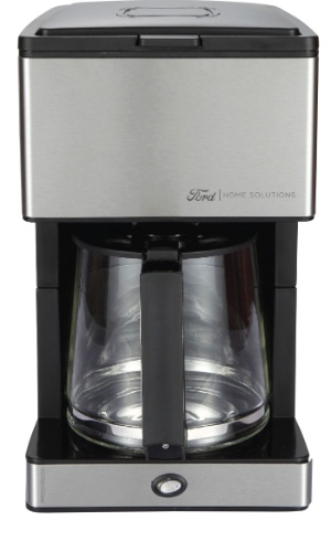 Cafeteira elétrica que faz parte da linha de eletrodomésticos lançada pela Ford em parceria com a NKS