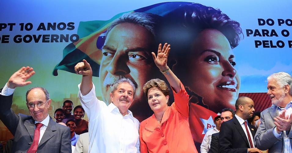 24.jul.2013 - A presidente Dilma Rousseff e o ex-presidente Luiz Inácio Lula da Silva estão em Salvador, na Bahia,  para participar da sexta edição do seminário ?O decênio que mudou o Brasil?. O encontro tem por tema os movimentos sociais e a participação popular