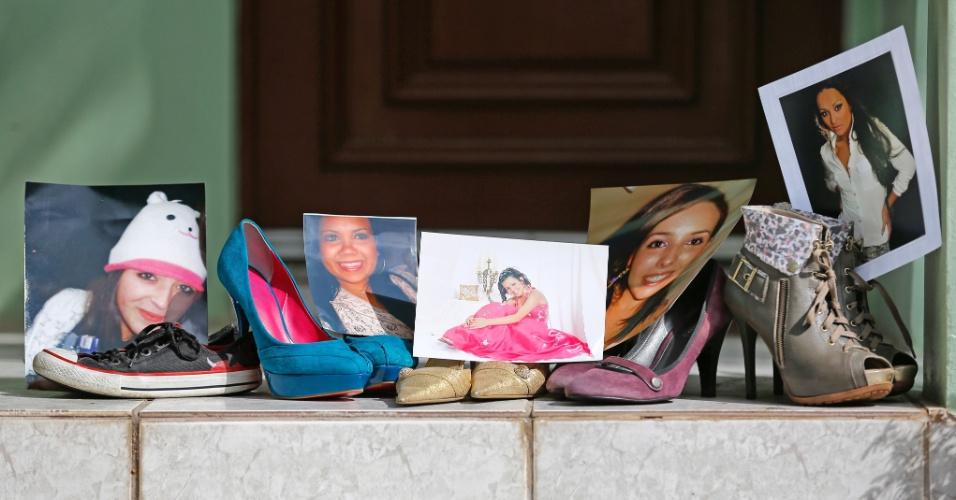 27.jul.2013 - Cinco jovens que morreram na tragédia da boate Kiss mantinha um projeto social na creche Criança Feliz, em Santa Maria (RS). As mães das jovens decidiram criar a ONG