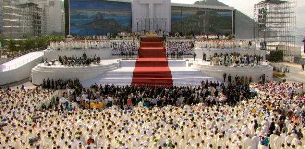 A missa de encerramento da Jornada Mundial da Juventude foi celebrada pelo papa Francisco