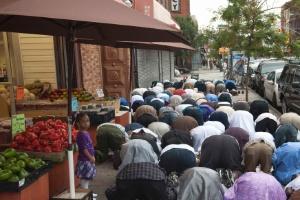 Coincidência de feriado muçulmano do sacrifício com o 11/9 desperta temores nos EUA (Foto: Stephanie Keith/Reuters)