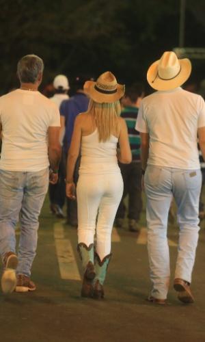 24.ago.2013 - Grupo participa da Festa do Peão de Barretos (SP)