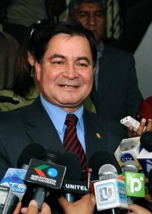 O senador boliviano Roger Pinto, em foto de 21 de março de 2011