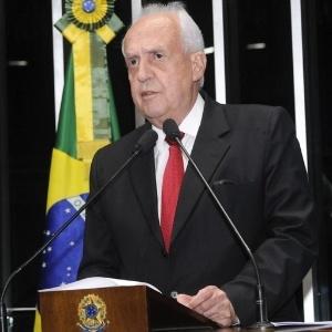 O senador Jarbas Vasconcelos, autor da PEC aprovada pelo Senado nesta quarta-feira (11)