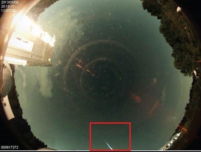 11.set.2013- Na segunda-feira (9), às 20h18 (horário local), um detrito de cometa do tamanho de uma bola de beisebol (entre 23 e 25 centímetros) chocou-se com a atmosfera acima do Alabama, Estado dos EUA, produzindo uma luz 15 vezes mais brilhante do que o planeta Vênus