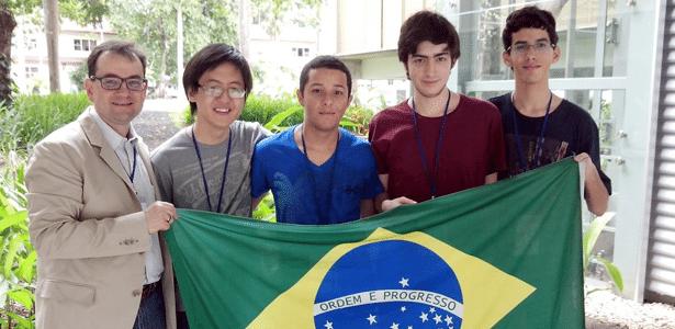 Equipe do Brasil na Olimpíada Ibero-Americana de matemática no Panamá