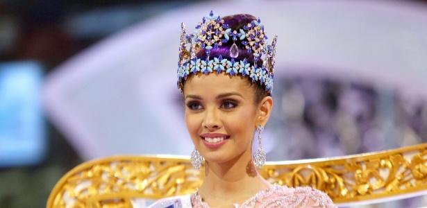 A Miss Filipinas, Megan Young, levou o título de Miss Mundo 2013 em concurso realizado na Indonésia