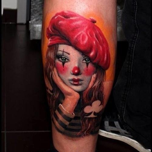 28.set.2013 - Tatuagem do artista polonês Anabi. Ele participa da 9ª Convenção Internacional de Tatuagem em Londres. O evento reúne cerca de 300 artistas de várias parte do mundo