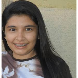 A estudante Andressa Fontes, 16, foi morta dentro de uma escola no município José da Penha (RN)