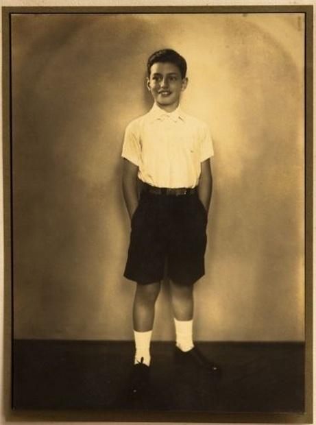 O deputado federal Paulo Maluf (PP-SP) quando criança, em foto de data não divulgada