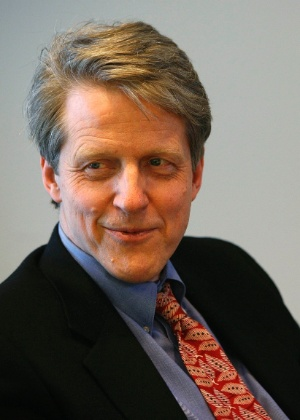 Robert Shiller, ganhador do prêmio Nobel de Economia de 2013