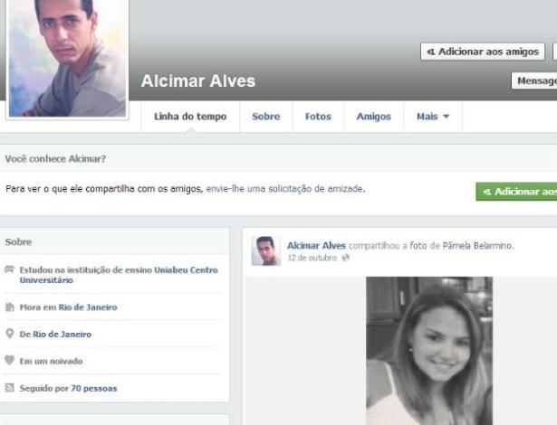 Segundo a polícia, Alcimar Alvez confessou o crime; motivação para assassinato ainda não foi esclarecida