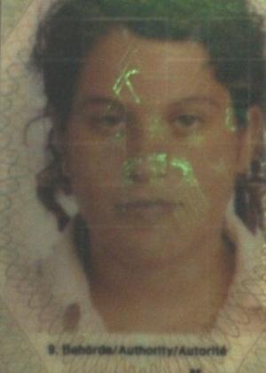 16.out.2013 - Dorith Mariana da Silva, 26, nascida em Bonfim, Roraima, é procurada por exploração sexual