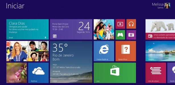 Windows 8.1 traz de volta menu iniciar e mais opções de imagens de fundo na nova interface