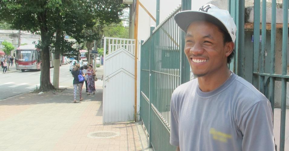 Haitiano quer estudar no brasil, Wilgard