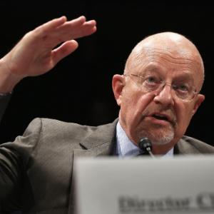 O diretor nacional de Inteligência dos EUA, James Clapper, em depoimento para a Comissão de Inteligência da Câmara dos Deputados