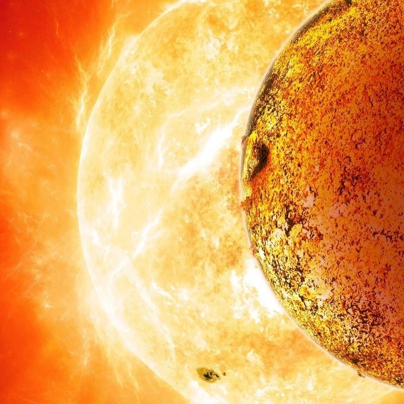 """30.out.2013 - O Kepler-78b, um planeta fora do Sistema Solar que foi descoberto em agosto, possui massa e tamanho similares ao da Terra, informa estudo publicado na """"Nature"""". Foi possível descobrir sua massa porque ele orbita muito perto de sua estrela. Mas este fato trouxe também uma má notícia, as temperaturas no planeta chegam à 3000 ºC, o que inviabiliza a vida. A descoberta é importante porque mostra aos cientistas que """"planetas extrassolares com uma constituição semelhante à da Terra não constituem um fato extraordinário"""""""