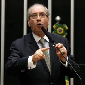 Eduardo Cunha (PMDB-RJ) profere discuro durante sessão da Câmara em novembro de 2013