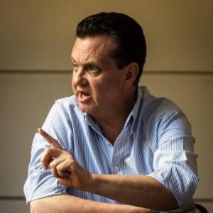 Ex-prefeito de São Paulo Gilberto Kassab (PSD) durante entrevista