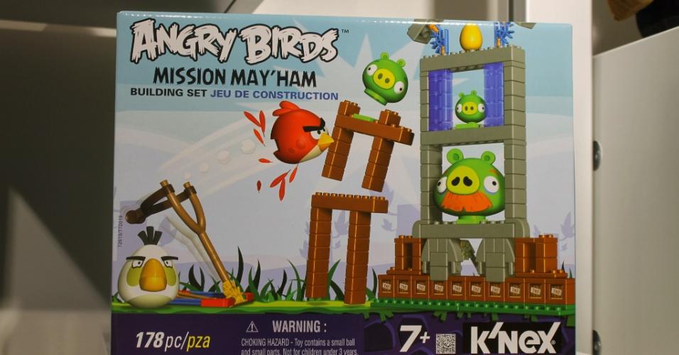 Jogo do ''Angry Birds'' vendido no mercado francês é exibido em loja conceito da Rovio em Espoo, na Finlândia