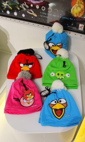 Toucas com personagens do ''Angry Birds'' são vendidas em loja conceito na sede da Rovio por 15 euros (cerca de R$ 47)