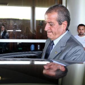 Valdemar Costa Neto (PR-SP), condenado no processo do mensalão, deixa a Câmara dos Deputados