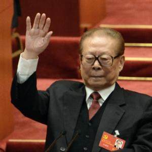 O ex-presidente chinês Jiang Zemin