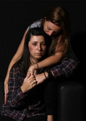 Jessica Otte e Amanda Carbone foram agredidas por motorista na avenida Groelândia, em São Paulo