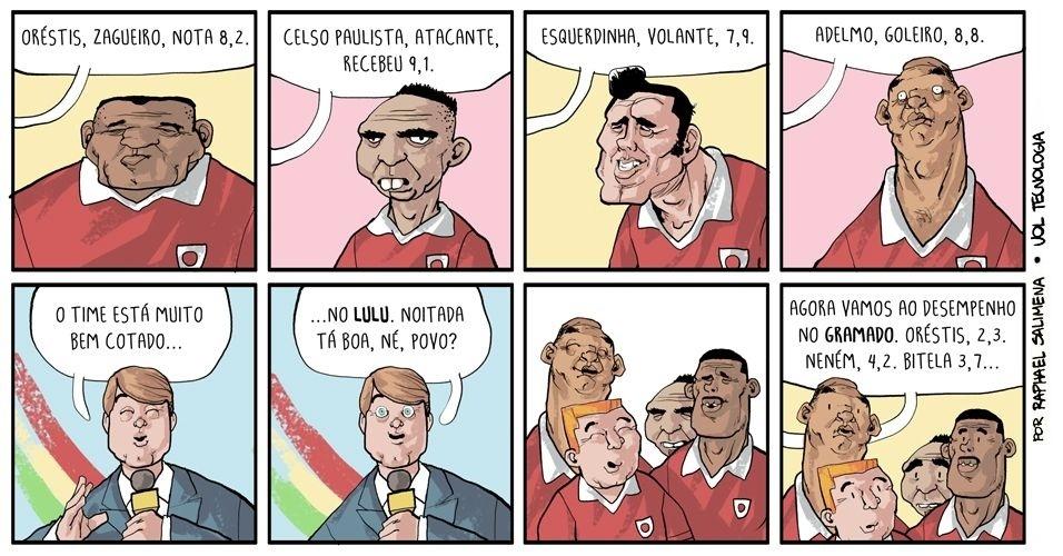 """29.nov.2013 - """"Os destaques da rodada"""""""