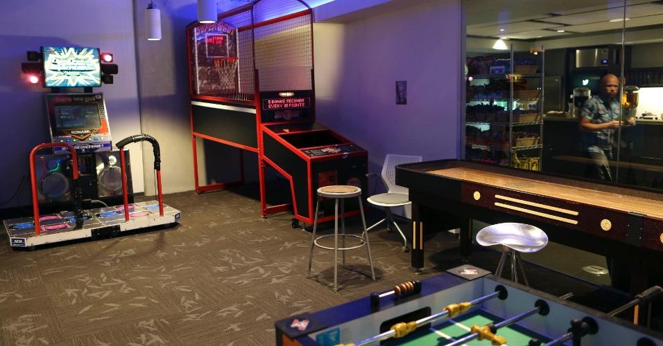 Sala De Tv E De Jogos ~ Conheça os escritórios de empresas de tecnologia  BOL Fotos  BOL