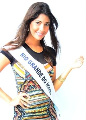 Isabel Maia, 23, do Rio Grande do Norte, é a Miss Surda Brasil 2014