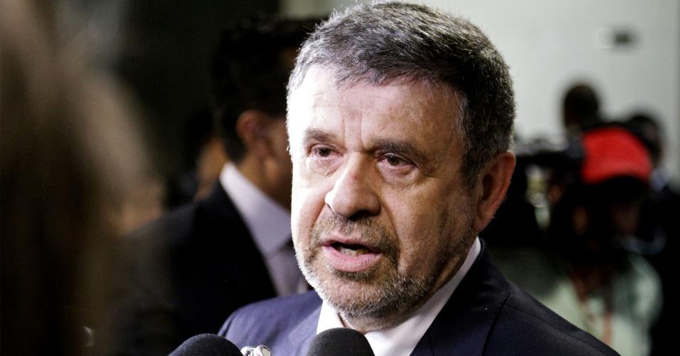 15.dez.2013 - O petista José Américo foi eleito presidente Câmara Municipal de São Paulo neste domingo (15). O plenário também escolheu integrantes da nova mesa diretora e da corregedoria geral da Casa