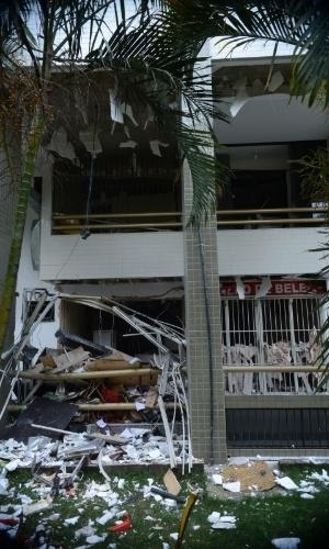 Vazamento Pelo Sensor Do óleo Fox Achado Com O Cel: Veja Fotos Da Explosão Do Restaurante Em Brasília (DF