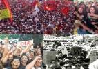 Estudantes lutaram por democracia e educação; veja manifestações desde 1968 - UOL