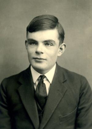 O britânico Alan Turing, que ajudou os aliados a vencer a 2ª Guerra Mundial