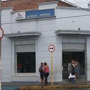 Lotérica de Santa Rita do Passa Quatro (SP) onde um ganhador levou a Mega da Virada de 2013